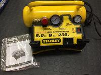 Stanley 5 ltr lightweight & portable compressor
