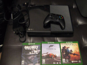 3 games and xbox one