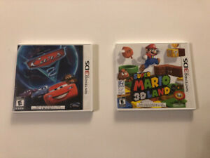Nintendo 3DS Games (Cars 2, Super Mario 3D Land)