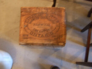 Antique butter box London Ontario image 1