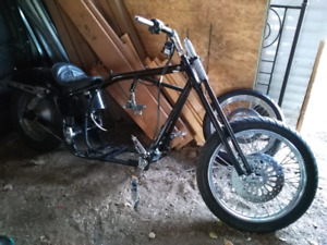 Harley Davidson FXR rolling chassis