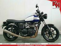 Triumph Bonneville Newchurch 2016 White and Blue - **Special Edition**