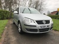 Volkswagen Polo 1.2 60 PS Match (silver) 2009