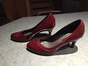 Beautiful Burgandy Shoes For Sale!
