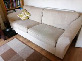 M and S sofa, three seater