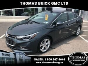 2017 Chevrolet Cruze Premier  LEATHER! HEATED SEATS!