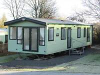 Abi Sunningdale 38ft x 12ft 2014 Sited Causey Hill Holiday Park Hexham