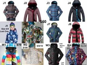 Sale! NEW 10K waterproof Women Snow Jacket size6-14 $60-$100