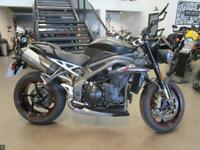 TRIUMPH SPEED TRIPLE RS MATT BLACK 1684 MILES