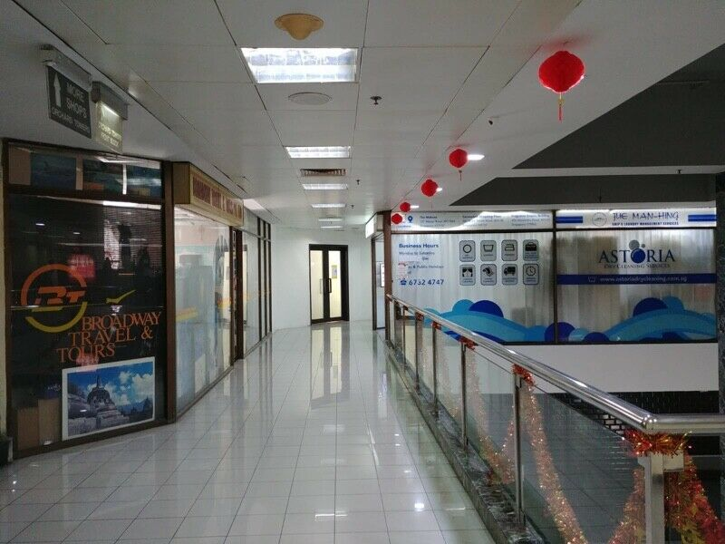 Orchard tower office cum shop on 2nd floor for rent. 400 sq ft Short term lease available