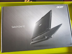 "Acer One 10 -10.1"" - Tablet - 64GB - With Keyboard - Shale black"