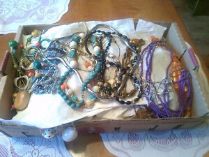 Approximately 100 in this lot of costume jewelry London Ontario image 2