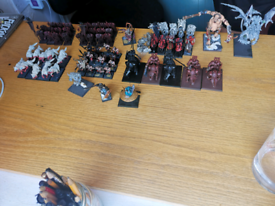 Games workshop warhammer fantasy 8th edition warriors of chaos army