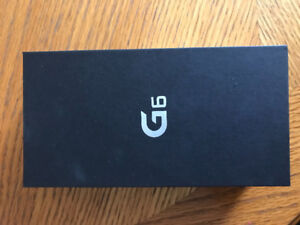 LG G6 Brand New In Box For Sale!
