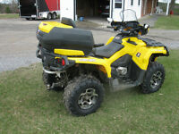 REDUCED -- CAN AM OUTLANDER 650
