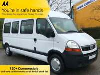 2010 /10 Vauxhall Movano LM35 DCI 9 seat Minibus - Shuttle