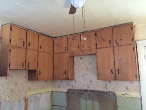 Used Pine cupboards