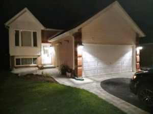 3 bedroom, two bathroom raised bungalow North Bowmanville