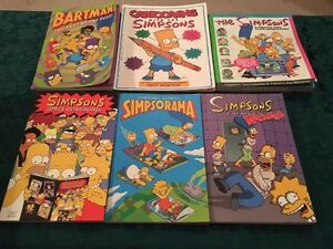 Simpson 6 books lot sale