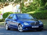 Mercedes Benz C180 Kompressor 1.8 Auto 2005 SE +LEATHER +F+R PARKING SENS +FSH