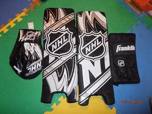 Equipement de gardien de but hockey NHL / Hockey equipment