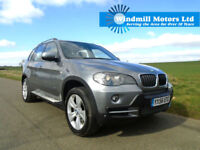 2007 BMW X5 3.0 30D SE AUTOMATIC 5DR 4X4 GREY - 7 SEATER - LOW MILEAGE
