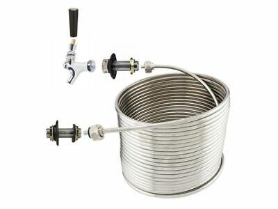 Ny Brew Supply Jockey Box Single Faucet Coil Kit - 516 X 50 Right Hand