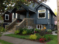 Executive furnished home in Point Grey
