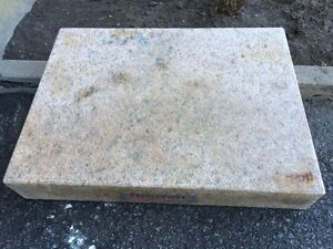 STARRETT Crystal Pink granite surface plate 18X24X4 for $275