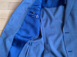 Short and skinny? Suit Supply Suit Grey Kitchener / Waterloo Kitchener Area image 4