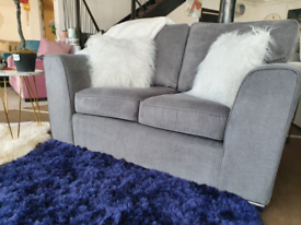 NEW Grey Martine 2 Seater Sofa DELIVERY AVAILABLE