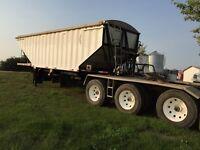 CHEAP Lode king prestige lead tri axle grain trailer