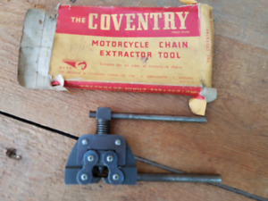 The Coventry Motorcycle Chain Extractor Tool