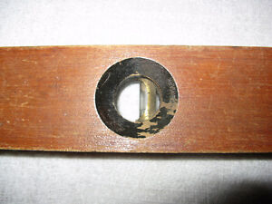 Vintage Wooden Rule Level by Stanley London Ontario image 2