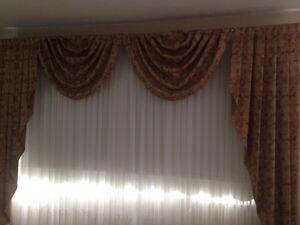 2 Custom-Made Curtains $ 60 OBO