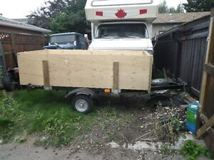 Completely rebuilt Utility/Motorcycle Trailer
