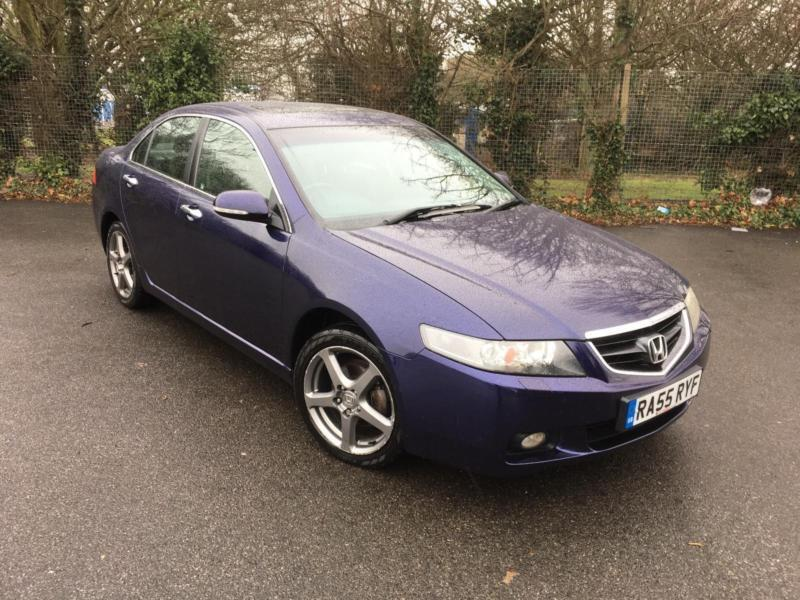 honda accord 2 0 v tech executive automatic blue petrol 4 door saloon 2005 in broadstairs. Black Bedroom Furniture Sets. Home Design Ideas