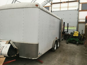 Mobile Welding/Workshop Trailer with air compressor, drill press Kawartha Lakes Peterborough Area image 1
