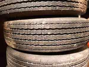 Trailer rims and tires 5x4.5 Kitchener / Waterloo Kitchener Area image 6