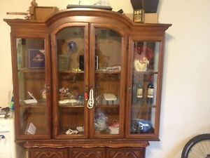 Hutch and buffet 150$