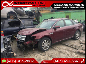 2007 FORD TAURUS FOR PARTS PARTING OUT CARS CAR PARTS