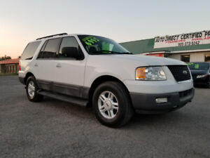 FORD EXPEDITION XLT *** 8 PASSENGER SUV *** CERTIFIED $6995