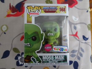 """Funko Pop Moss Man Flocked Toys""""R""""Us Exclusive"""