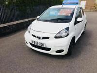 Toyota AYGO 1.0 VVT-i ( a/c ) 2011MY AYGO GO Cheap Tax £20 Sat Nav