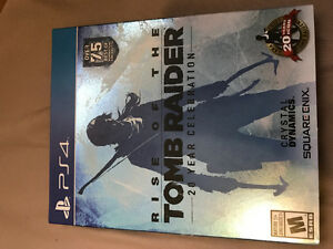 Rise of the Tomb Raider 20 Year Celebration for PS4
