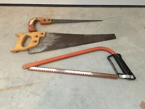 For Sale: Assorted Saws