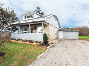 Charming limestone century home situated on a beautiful 1/3 acre