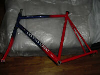 cannondale made in the usa road frame large threadless fork caad