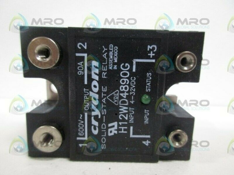 CRYDOM H12WD4890G SOLID STATE RELAY *NEW NO BOX*