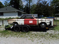 1963 CORVAIR MONZA CONVERTIBLE ROLLING CHASSIS